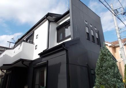 柏市 A様邸 外壁塗装施工例メイン写真