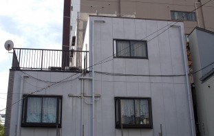 外壁塗装施工例 施工前写真