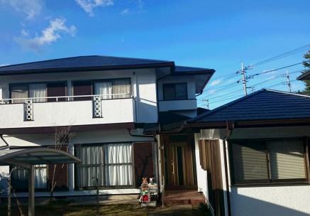 松戸市 E様邸 外壁塗装施工例メイン写真