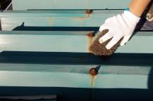 柏市 Eアパート屋根塗装工事 外壁塗装施工例写真1